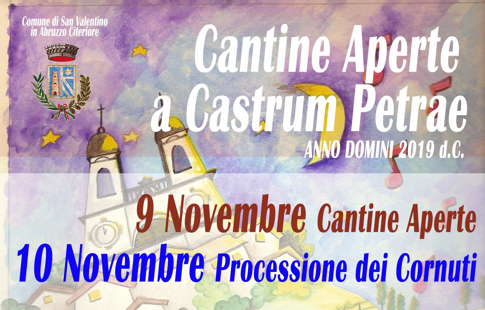 Informazioni Cantine Aperte a Castrum Petrae 2019 - ritorno alle origini